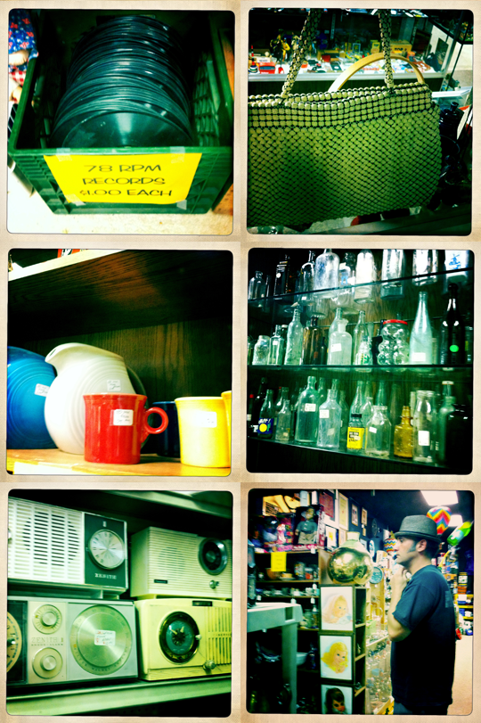 vintage store goods