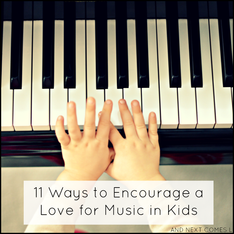 How to encourage a love for music in your kids