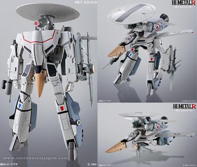 VE-1 Valkyrie per la linea HI-Metal R della Bandai