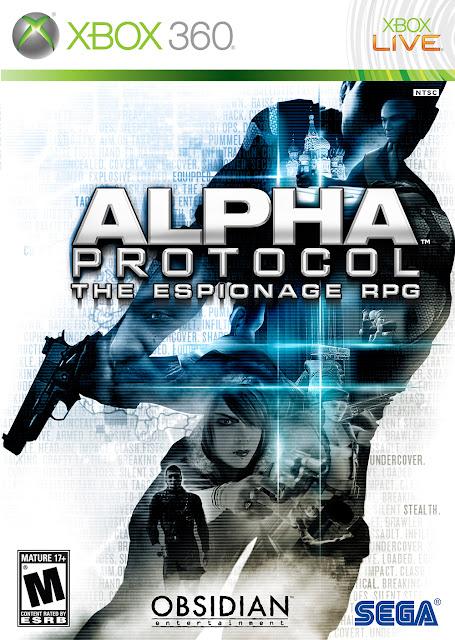 Alpha Protocol - Xbox 360 - Portada