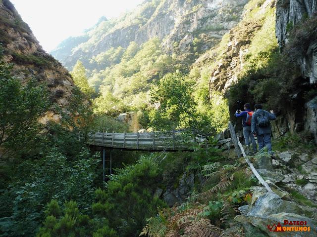 Desfiladero de Los Arrudos: Puente la Calabaza