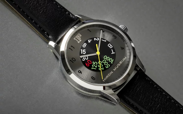 Nikon svela l'orologio in edizione limitata per commemorare il 60° anniversario della Nikon F