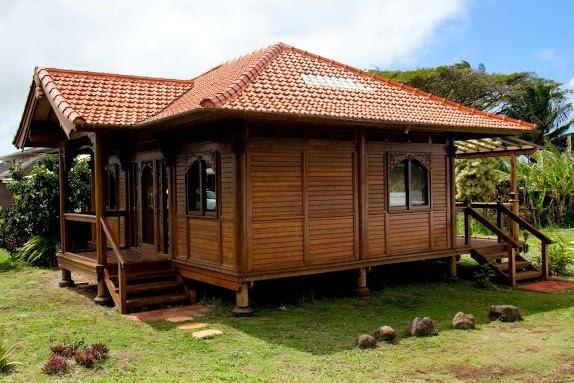 rumah kayu tradisional