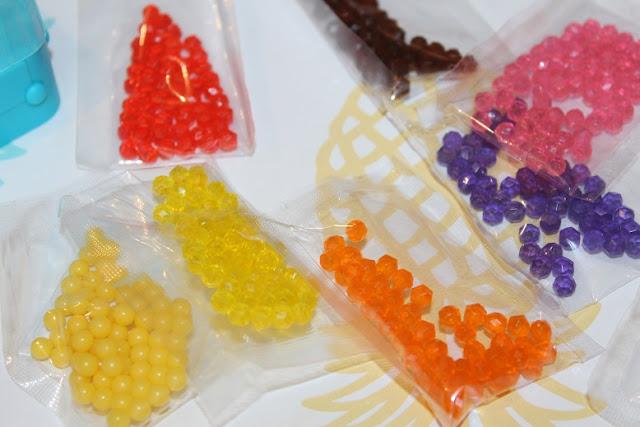 perles pour créer avec les enfants