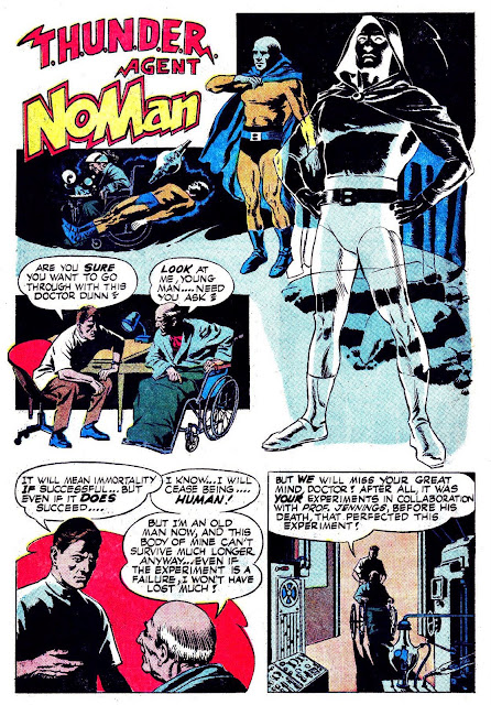 BEACH BUM COMICS : T.H.U.N.D.E.R. AGENT NOMAN -- WORK...WORK ...
