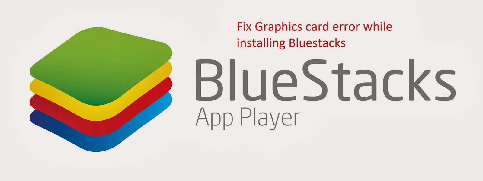 bluestacks graphics card error
