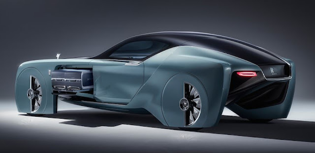 100年後のロールスロイスはこんなデザイン!最新コンセプトカー「103EX」を発表。