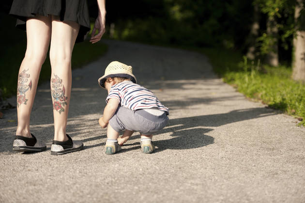 madres tatuadas con hijos