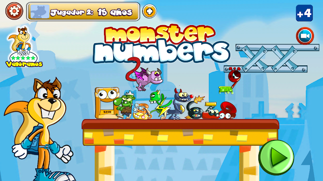Monster Números