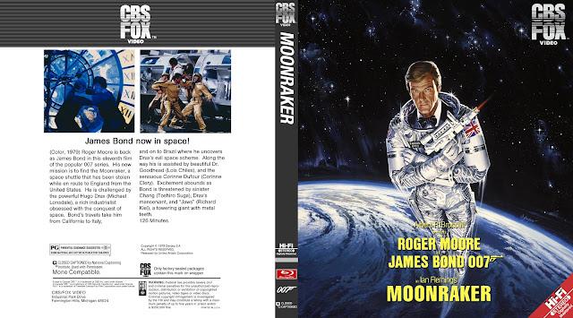 Moonraker Bluray Cover
