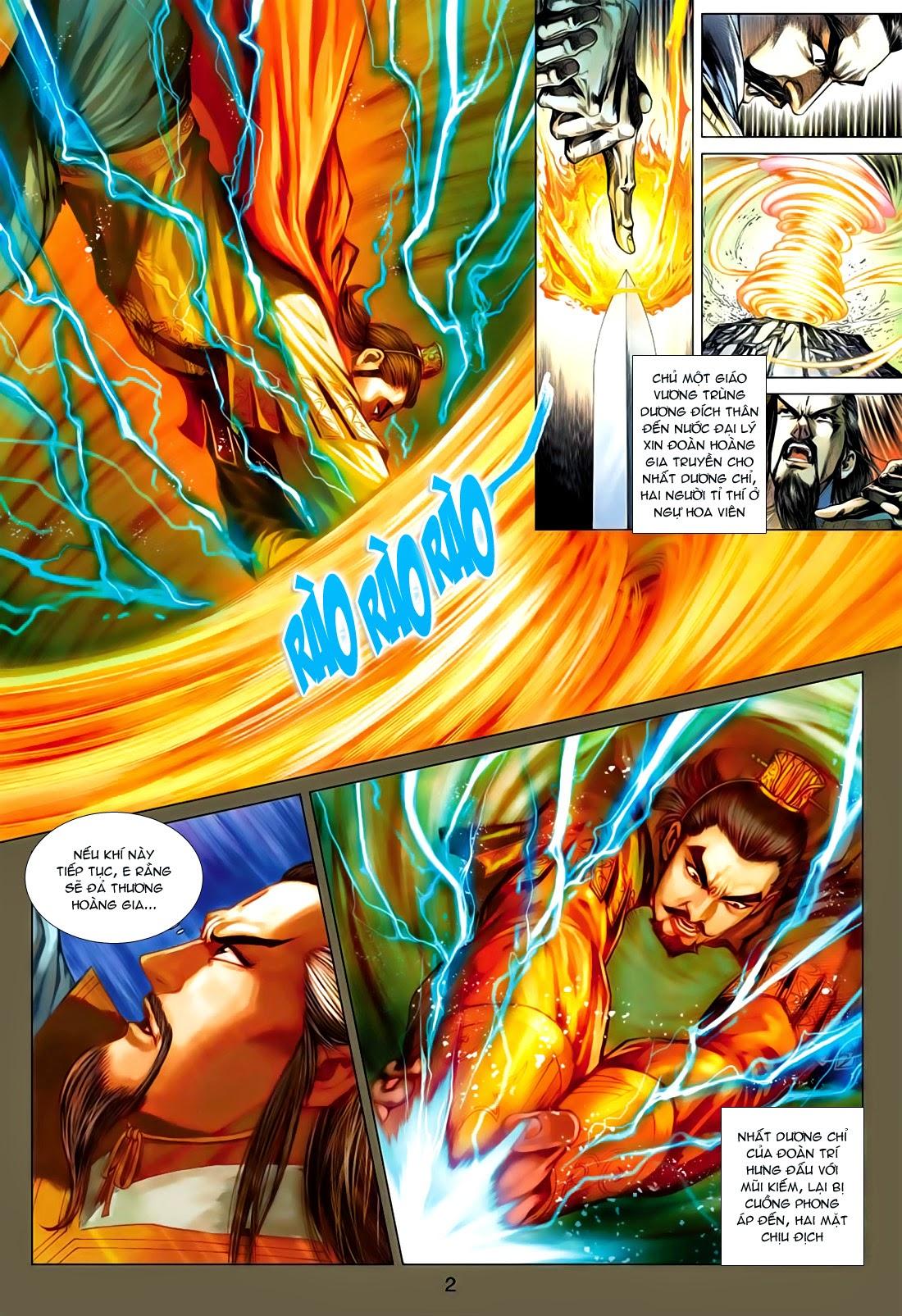Anh Hùng Xạ Điêu anh hùng xạ đêu chap 77: thế thượng tối cường võ công trang 2