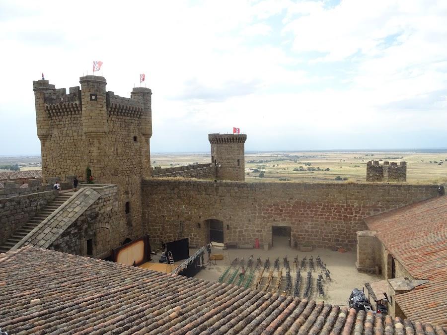 Interior del Castillo de Oropesa