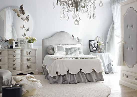 Blog de mbar muebles un dormitorio rom ntico para la - Dormitorio juvenil chica ...