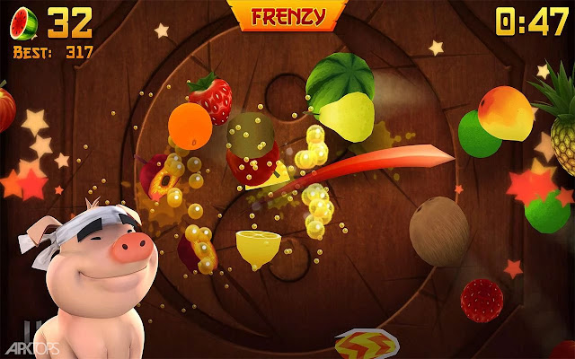 Download Fruit Ninja v2.3.8 Mod Money for android