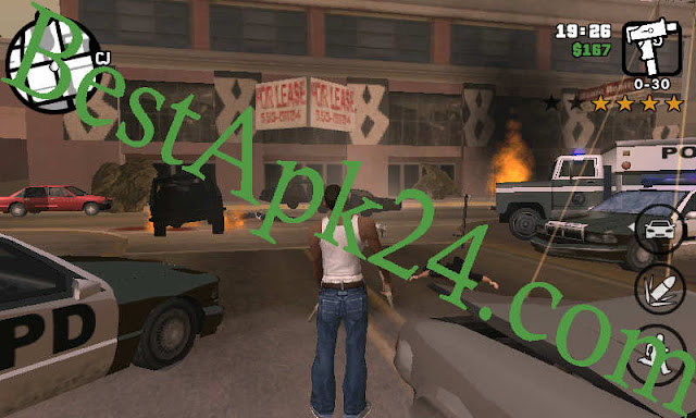GTA San Andreas Lite v8 APK+ DATA (All GPU) (250MB) 4