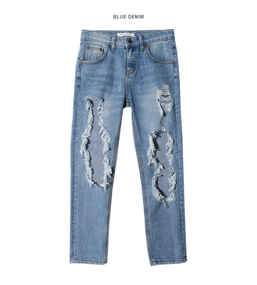 Extreme Pre-Damaged Jeans