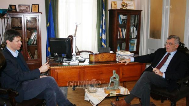 Μία μικρή αποτίμηση της συνάντησης του δημάρχου Λέσβου Σπ. Γαληνού με τον  συντονιστή της εφαρμογής της συμφωνίας Ε.Ε-Τουρκίας Μάρτιν Βερβέι 1406941c762