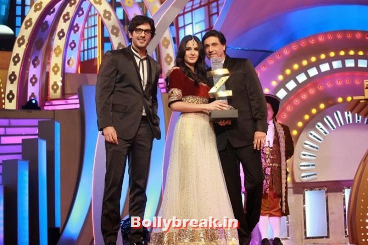 Zayed Khan, Katrina Kaif and Shaimak Dawar, Zee Cine Awards 2011-2013 Pics