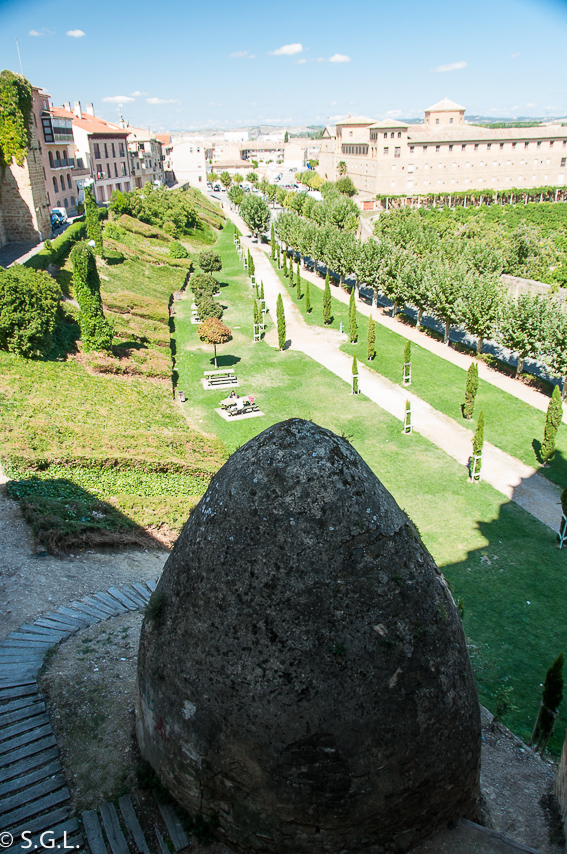 Pozo de hielo en el Palacio Real de Olite