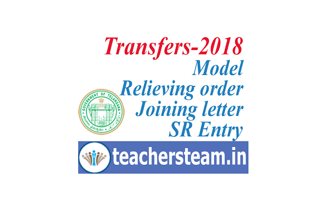 Relieving order - joining letter - SR Entry