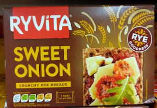 Ryvita Crispbread Sweet Onion