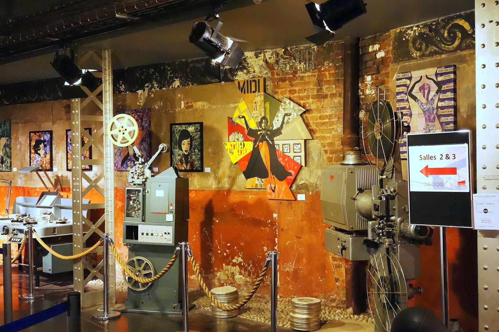 Expo fkdl cin paris le cin ma r tro de franck duval en collaboration avec stoul beerens - Expo street art paris ...