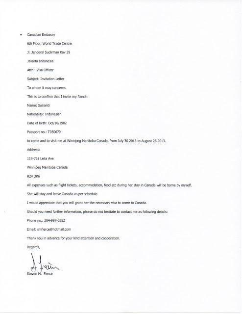Contoh Surat Kuasa Pengurusan Visa Dalam Bahasa Inggris Surat 33