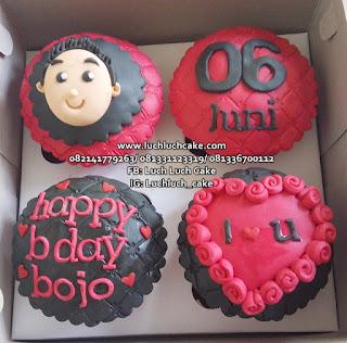 Cupcake Ulang Tahun Lucu Untuk Cowok