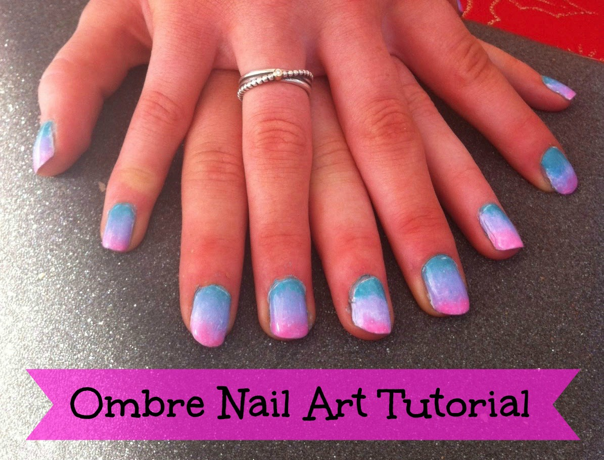 How To Ombre Nail Art Tutorial Gingerbread Smiles