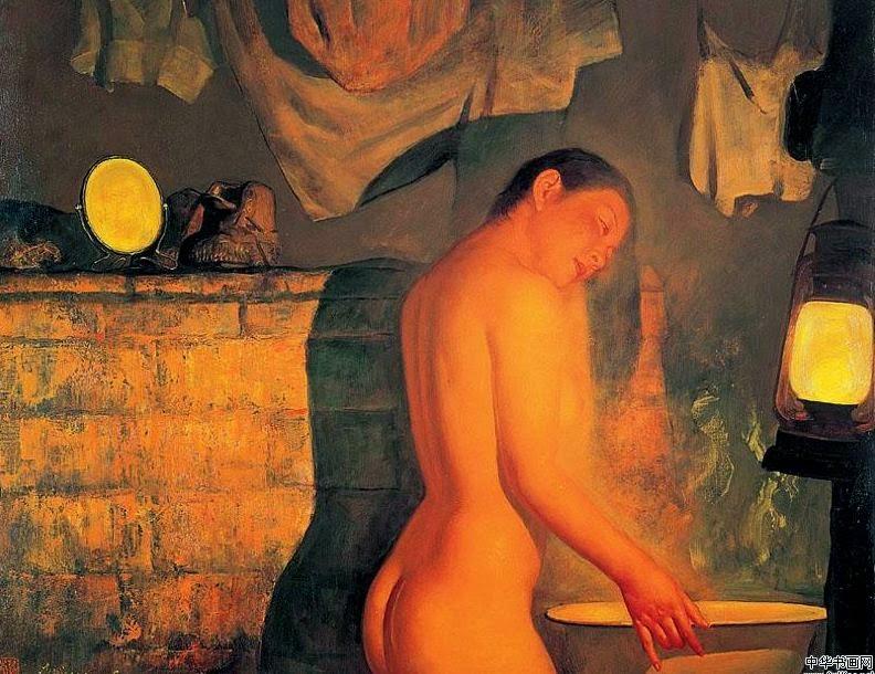 Paintings By Chinese Artist Li Bin