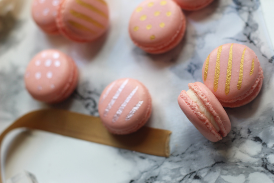 Wedding favour macarons recipe
