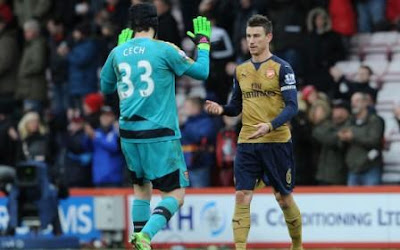 Cech and Koscielny