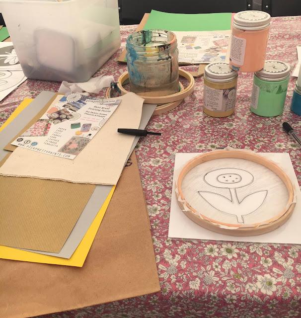 Pick Pretty Paints workshop
