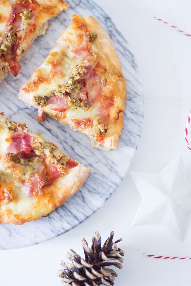 Simple Leftover Pizza Boxing Day Recipe
