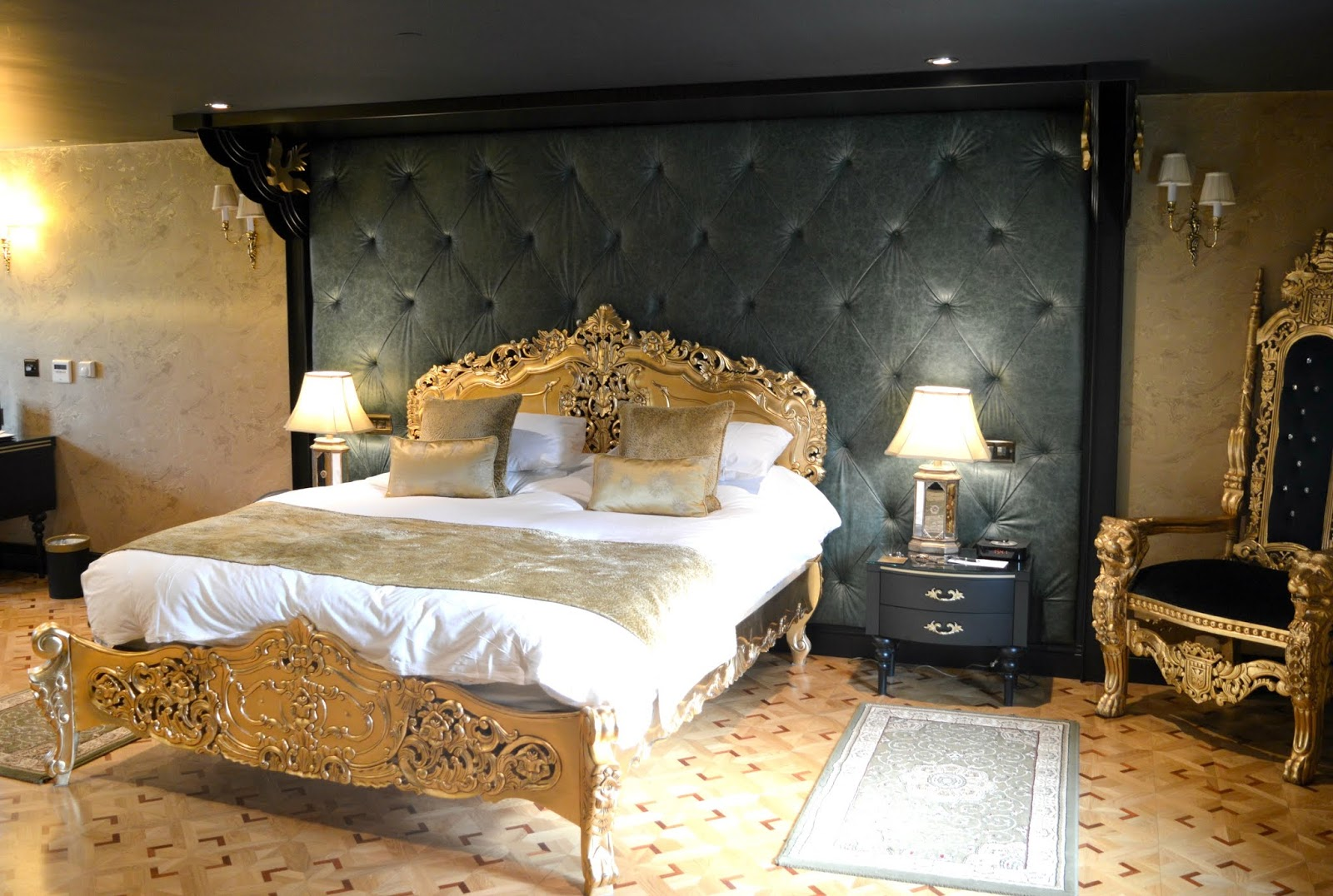 Luxury Room at Crab & Lobster, Thirsk