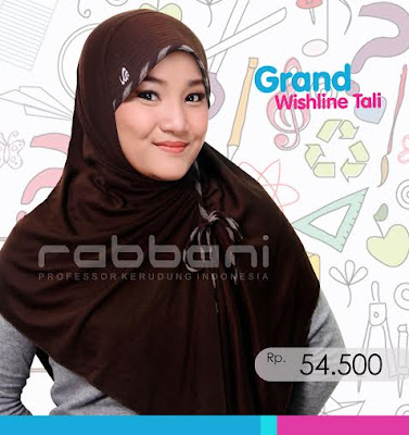 Model Kerudung Rabbani Terbaru Untuk Sekolah  Model Jilbab