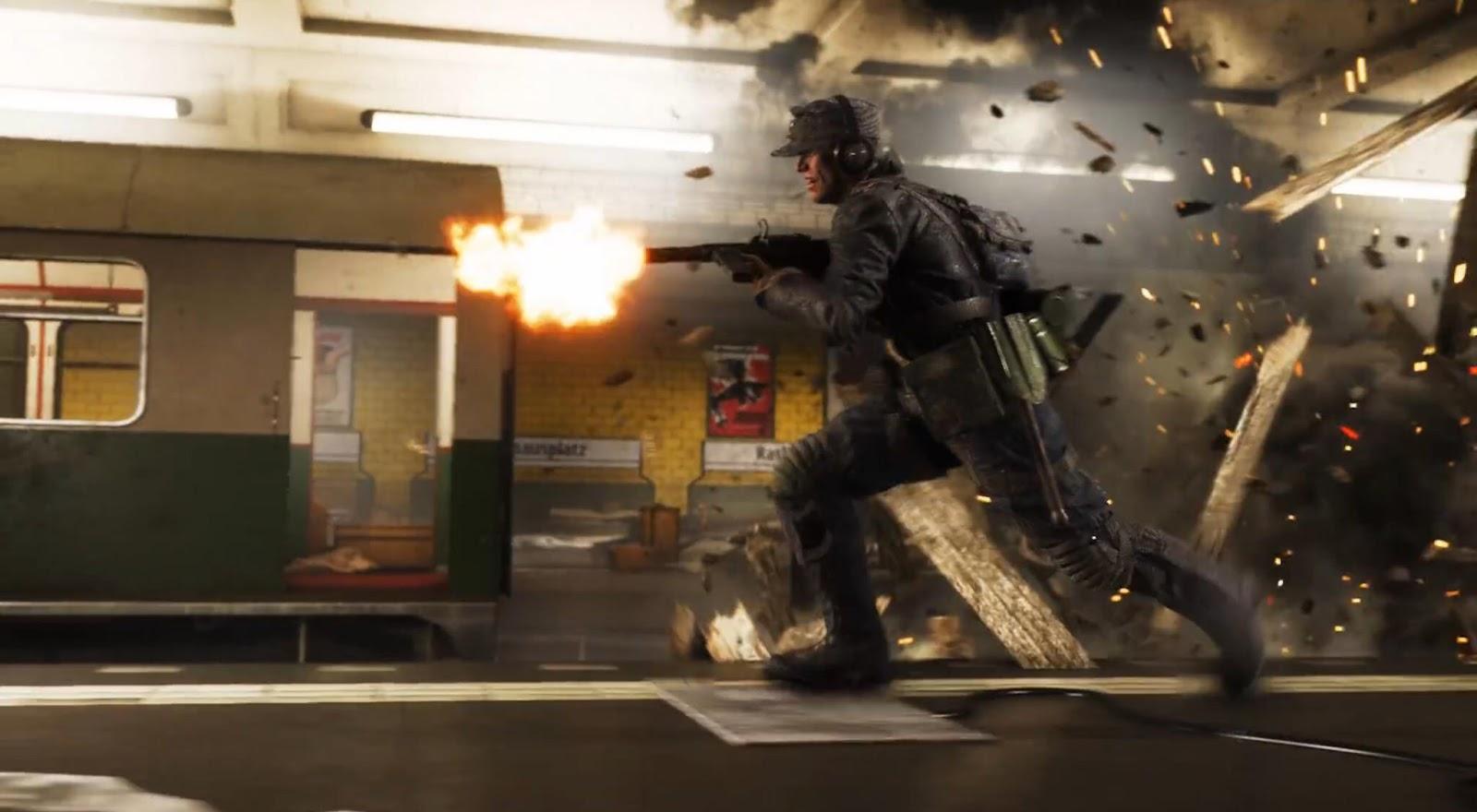 "Battlefield V também terá o seu mapa ""Operation Metro"""