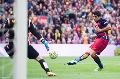 Suarez đang có phong độ cao