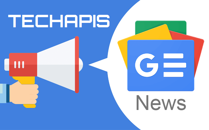 Techapis on Google News $quote=Google News