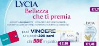 Logo Lycia e Tigotà ti premiano con 300 Card da 50€