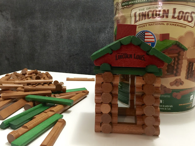 Lincoln Logs toy