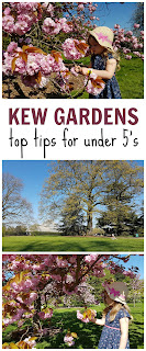 How to enjoy Kew Gardens with under 5's - 5 top tips for the little kids visiting Kew Gardens.