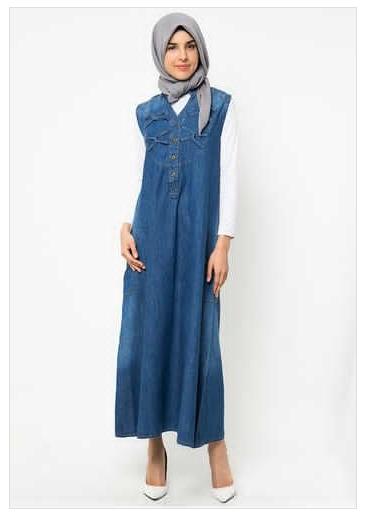 Contoh Model Busana Muslim Jeans Casual 2016   tajima fashion