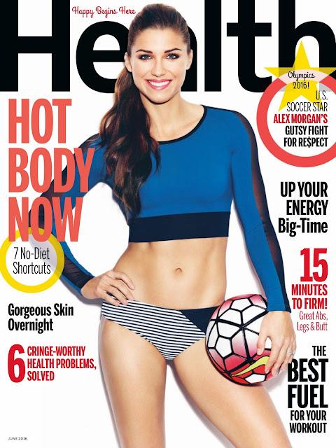 Soccer Player, @ Alex Morgan - Heath Magazine June 2016