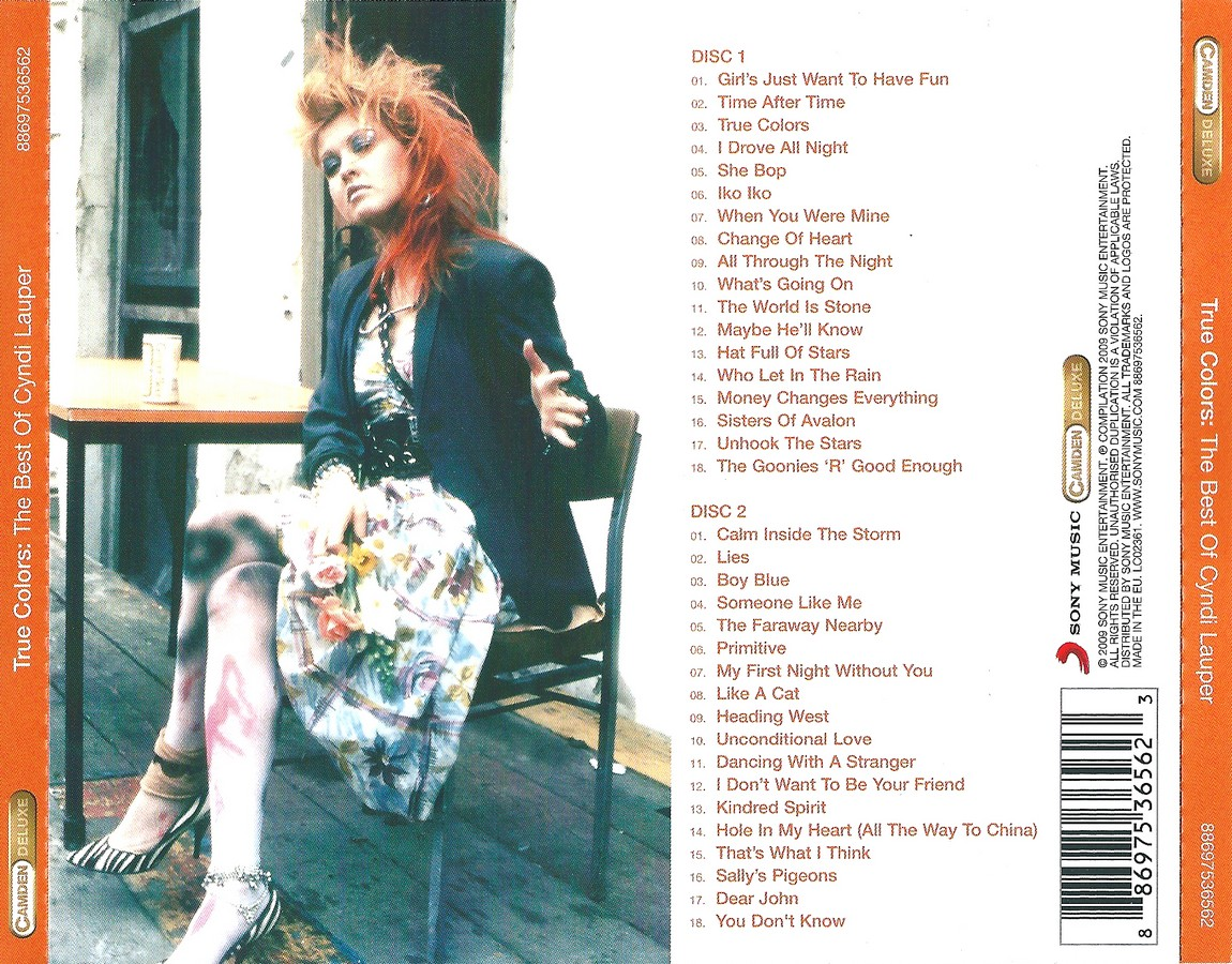 Music Of My Soul: Cyndi Lauper-2009-True Colors-The Best