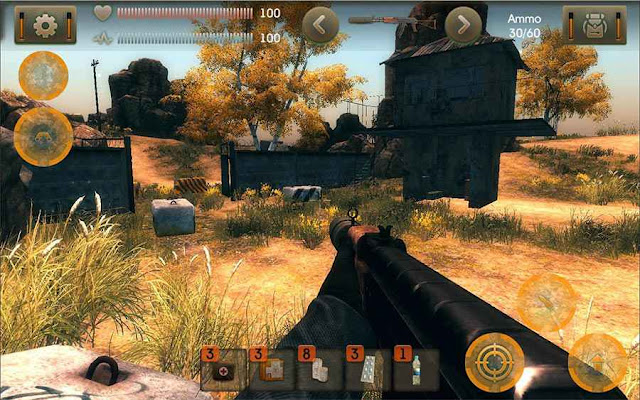 Game FPS Offline Android The Sun Evaluation MOD APK