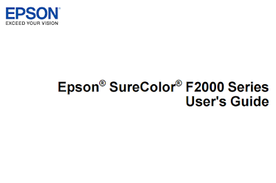 Epson SureColor F2000 Manual