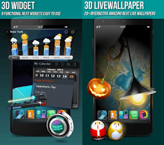 tema android : Next Launcher 3D Shell Pro Apk v3.7.2 Full Version