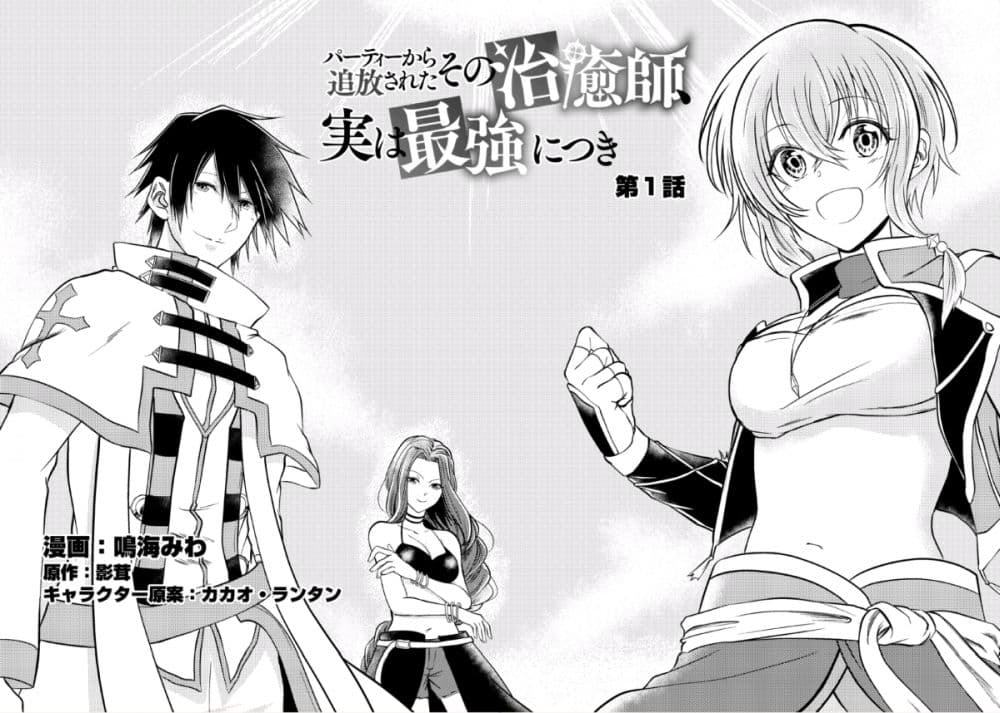 อ่านการ์ตูน Party kara Tsuihou Sareta Sono Chiyushi Jitsuha Saikyou Nitsuki ตอนที่ 1 หน้าที่ 3