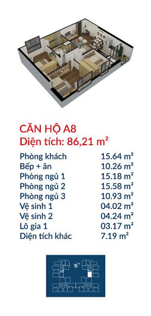 Căn hộ A8 Việt Đức Complex